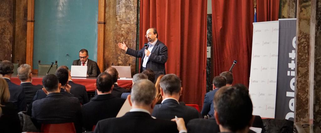 Michael Green presenta il Social Progress Index in Italia all'evento della Fondazione Attua